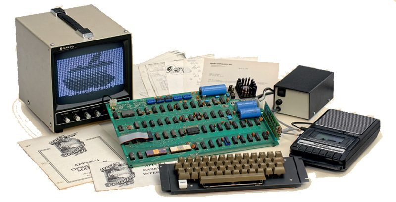 1976 Apple One of the rarest I's goes up for auction