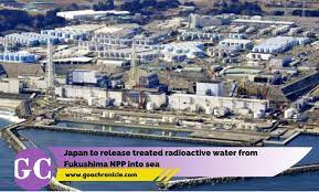 Will release Treated Radioactive water into Sea; Says Japan