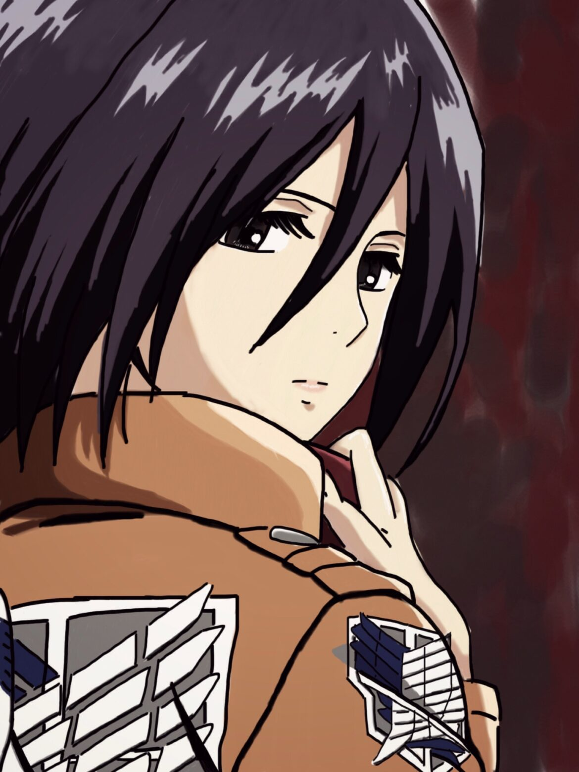 Read about Mikasa Ackerman's life in Attack on Titan