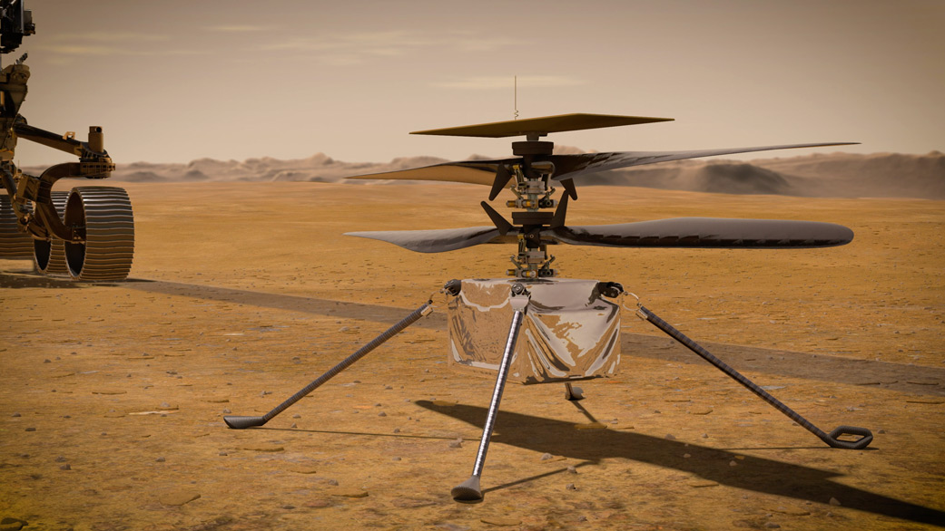 NASA's Ingenuity Copter is Still Going Strong After 6 Months on the Red Planet