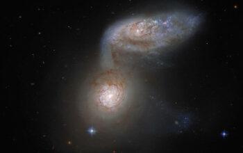 galaxies merging